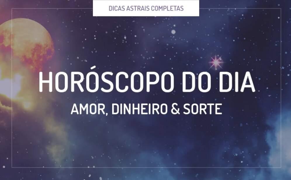 Horóscopo para os signos: Quarta-feira 25 de novembro de 2020